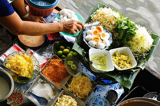The Asian Delicacies in Chiang Mai